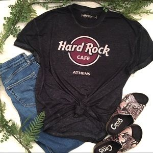 Hard Rock Cafe Athens Lightweight Soft T-shirt XL